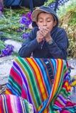 Chichicastenangomarkt Stock Afbeeldingen