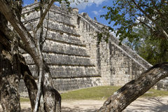 Chichén Itzá Ossario Stock Images