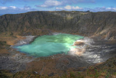 Chichonal Vulkan, Chiapas, Mexiko lizenzfreie stockfotografie