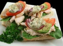 Chicjen Finger Sandwiches Stock Images