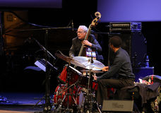 Chick Corea Trio live on stage in ICE Cracow, Poland. Stock Photo