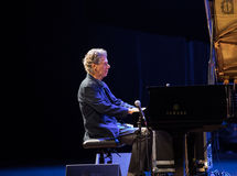 Chick Corea Trio vivo na fase no GELO Cracow, Polônia Fotos de Stock