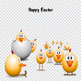 Funny happy easter Royalty Free Stock Images