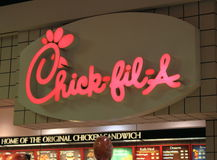 Chick-Fil-A Royalty Free Stock Images