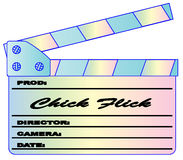 Chick Flick Pastels Clapperboard Royalty Free Stock Photos