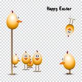 Funny happy easter Royalty Free Stock Photography