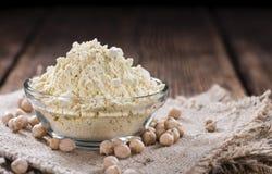 Chick Pea Flour Stockbild