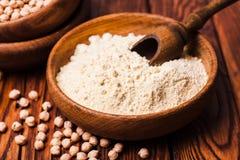 Chick Pea Flour Lizenzfreies Stockfoto