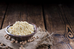 Chick Pea Flour Stock Photo