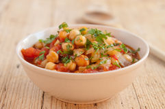 Chick pea meal Royalty Free Stock Photos