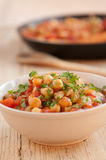 Chick pea meal Stock Photography