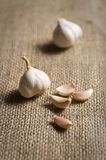 Chick Pea with sack Royalty Free Stock Image