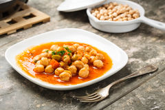 Chick pea salad Stock Images