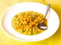 Chick pea soup Stock Photos