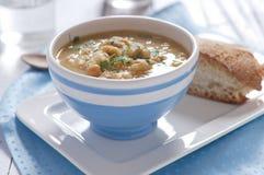 Chick-pea soup Stock Photos