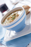 Chick-pea soup Royalty Free Stock Image