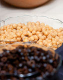 Chick peas Stock Images
