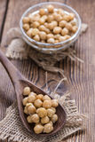 Chick Peas (Canned) Royalty Free Stock Images