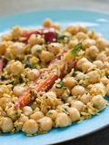 Chick Peas and Coconut with Chilli Royalty Free Stock Photography