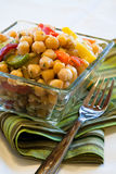 Chick peas salad Stock Photos