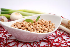 Chick peas Royalty Free Stock Photos