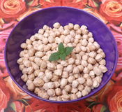 Chick peas Stock Photography