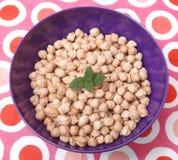 Chick peas Stock Image