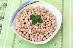 Chick peas Royalty Free Stock Image