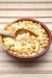 Chick-peas stew Stock Photo