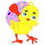 chick Wielkanoc Fotografia Royalty Free