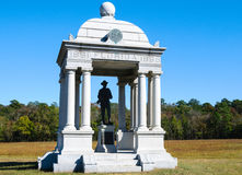 Chickamauga和加得奴加全国军事公园 库存图片