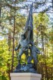 Chickamauga和加得奴加全国军事公园 库存照片
