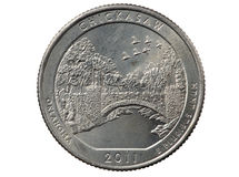Chickasaw Oklahoma Quarter Royalty Free Stock Image