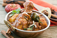 Chickem Vindaloo Stock Photo