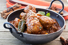 Chickem Vindaloo Royalty Free Stock Photography