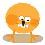 Chicken. Toothy chicken redhead color on white background Stock Photos