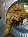 Chicken afghani stock image