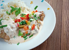 Chicken ala King Stock Photography