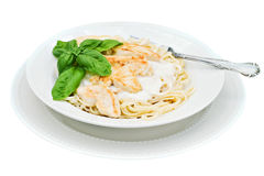 Chicken alfredo Royalty Free Stock Image