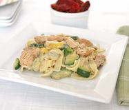 Chicken Alfredo Royalty Free Stock Photography
