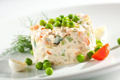 Chicken And Egg Salad Royalty Free Stock Images