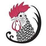 Chicken art Royalty Free Stock Image