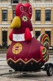Chicken as a symbol of folklore. Kiev. Ukraine Royalty Free Stock Photos