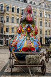 Chicken as a symbol of folklore. Kiev. Ukraine Royalty Free Stock Images
