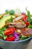 Chicken Avocado salad Royalty Free Stock Image