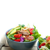 Chicken Avocado salad Royalty Free Stock Images