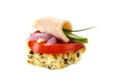 Chicken And Avocado Tidbit Royalty Free Stock Photography