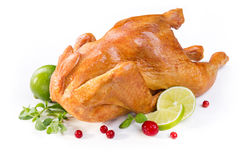 Chicken baked Royalty Free Stock Photo