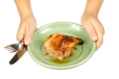 Chicken baked Royalty Free Stock Image