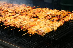 Chicken Barbecue Stock Photo